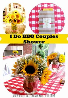 I Do BBQ Couple's Shower
