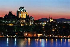 Quebec City, Le Château Frontenac and the Saint Lawrence River, Quebec, Canada. Gorgeous from every angle! Old Quebec, Quebec City, Ottawa, World's Most Beautiful, Beautiful Places, Ste Anne, Saint Lawrence River, Canada Pictures, Chateau Frontenac