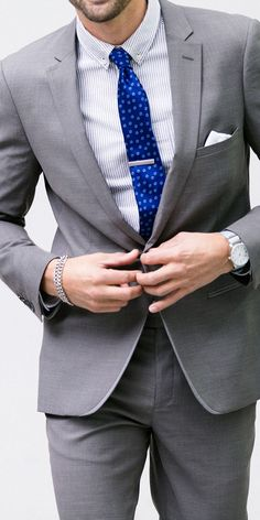 The Tie Guy — I need a professional suit, for med school...