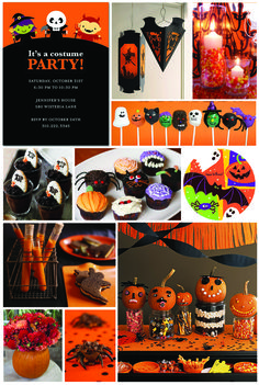 Inspiration Board: Halloween Party | Tiny Prints Blog