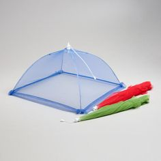 A Must Have for Summertime Outdoor Dining!  WorldMarket.com: Collapsible Mesh Food Tents, Set of 3
