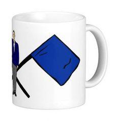 hochwertige Premium Keramik Tasse mit Kampfrichter Auf Wunsch auch mit Vereinslogo bedruckbar. - Spülmaschinen geeignet - Durchmesser ca. 8 cm - Höhe ca. 9,5 cm