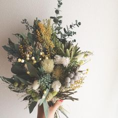 Beautiful Wild Flower Bouquet | Bohemian Wedding | Indie | Blooms | Florals |