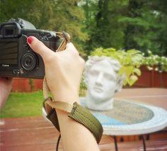 New Color  Orange and Black DSLR Wrist Strap Camera by PorteenGear, $12.00