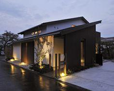 Japan Modern House, Modern House Design, Japan Architecture, Arch Architecture, Modern Exterior, Exterior Design, House Front, My House, Humble House