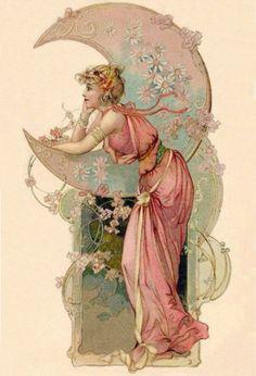 || vintagegal:   Postcard c. 1900s