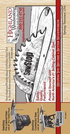 Highland Woodworking Spring 2014 Catalog