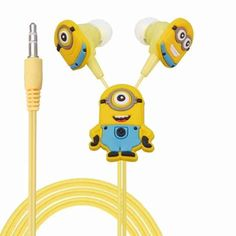 Despicable Me Minions Earphone //Price: $6.95 & FREE Shipping //
