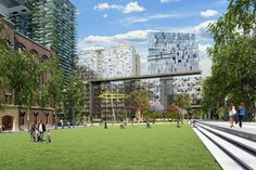 Landscape architects must play a leading role in helping people reconnect with nature through the development of living precincts. Architecture Portfolio Layout, Architecture Panel, Architecture Design, Central Park, Sustainable City, Urban Park, Good Day Song, Super Simple, Layout Design