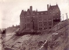 Tacoma stadium high school, the old Olympic Hotel Puyallup Washington, Tacoma Washington, Washington State, Old Images, Old Photos, Olympic Hotel, Oregon Travel, Pacific Northwest, Monument Valley