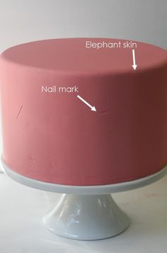 grunge fondant repair tutorial... This is amazing! I am SO trying this on the next fondant cake!