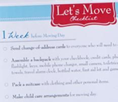 Moving Tips & Tricks {plus a FREE moving checklist}