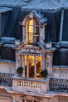 Architecture Parisienne, Parisian Architecture, Architecture Design, Beautiful Architecture, Parisian Apartment, Paris Apartments, Up House, Paris Photography, Cityscape Photography