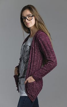 Ravelry: Who Me? Cardigan pattern by Courtney Kelley