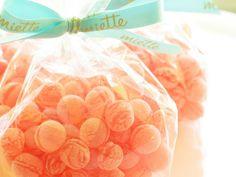 Bolsitas de caramelos con azucar