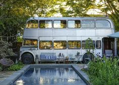 How wonderful is this converted bus and home of New Orleans based artist Miranda Lake? The images were found over at Apartment therapy, who described the place as beautifully strange, personally I do