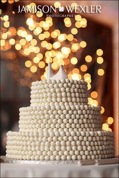 Modern Wedding Cake / Topper