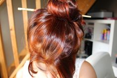 Maugenated: The day I managed to be redheaded with henna! Hair Color Guide, Hair Care Recipes, Natural Hair Styles, Long Hair Styles, Auburn Hair, Red Hair Color, Grunge Hair, Looks Style, Short Hairstyles