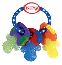 Ijsbijtring ring met sleutels - Nûby