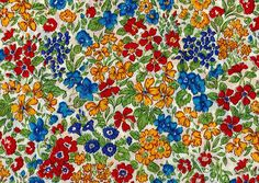 "LIBERTY liberty prints and Japanese tanaron fabric DC27842ZE (eternal) ""The Secret Garden] (the secret garden)"