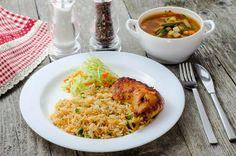 Lunchbox - self-service restaurant Risotto, Lunch Box, Restaurant, Ethnic Recipes, Food, Diner Restaurant, Essen, Bento Box, Meals