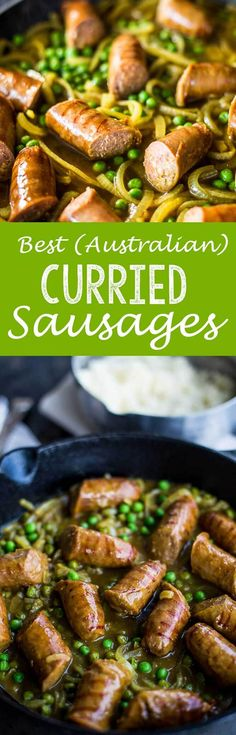 Enjoy the Best Curried Sausages for seriously good comfort food, Aussie style. It's a satisfying and nourishing dinner your whole family…