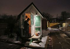 tiny houses madison wi. Tiny Houses In Madison, Wis., Offer Affordable, Cozy Alternative To Homelessness Madison Wi