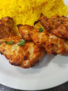 Tandoori Chicken, Cauliflower, Food And Drink, Meat, Vegetables, Cooking, Ethnic Recipes, Cilantro, Kitchen