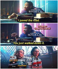 Marvel Dc Comics, Marvel Heroes, Marvel Characters, Marvel Movies, Marvel Avengers, Marvel Quotes, Funny Marvel Memes, Avengers Memes, Funny Memes