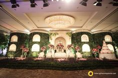 Wedding stage for christian and felicia wedding reception with wedding decor wedding jewelry stage for your big moment in life decorate by lotus design and lighting by lightworks junglespirit Gallery