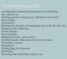 this is so true that it makes me feel predictable! Regardless, they are the best things <3