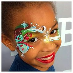 Resultado de imagem para Cute Snowman Faces to Paint Reindeer Face Paint, Snowman Faces, Cute Snowman, Christmas Snowman, Christmas Face Painting, Yorkie, Cheek Art, Extreme Makeup, Face Paint Makeup
