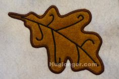Looking for your next project? You're going to love Applique Leaf embroidery file by designer Hug Longer.