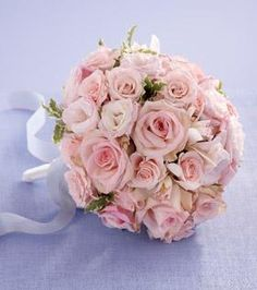 cute and simple wedding bouquet(: red roses instead