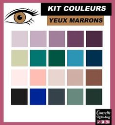Quelles couleurs de fard à paupières choisir ? Conseils Relooking vous fournit… Which eye shadow colors to choose? Makeover Tips provides you with a list of colors to wear / to avoid depending on the color of the eyes. Pinterest Design, Retro Makeup, Lip Makeup, Latest Makeup Trends, Ear Hair Trimmer, Cool Things To Make, How To Make, Makeover Tips, Colorful Eyeshadow