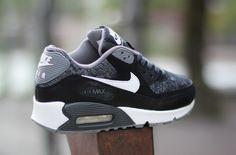 Nike Air Max 90 GS 'Woven' (White, Black & Grey) - EU Kicks: Sneaker Magazine