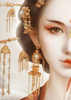 The sly lady Murong Xue transmigrated into a sickly noble lady whose fiance demoted her to a concubine. Chinese Painting, Chinese Art, Art Geisha, Beautiful Fantasy Art, Ancient Beauty, China Girl, Ancient China, Chinese Culture, Asian Art