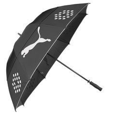puma storm performance black golf umbrella new 2015 - Black Canopy 2015