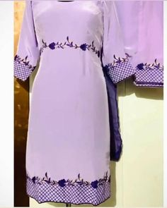 Embroidery Suits Punjabi, Kurti Embroidery Design, Embroidery Fashion, Hand Embroidery, Machine Embroidery, Punjabi Suits Designer Boutique, Indian Designer Suits, Patiala Suit Designs, Kurti Designs Party Wear