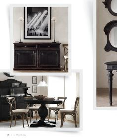 2013 Small Spaces Catalog | Restoration Hardware | Condo ...