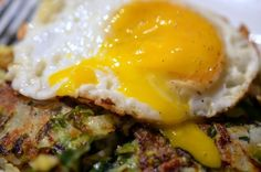 Brussels Sprout, Cabbage & Apple Hash