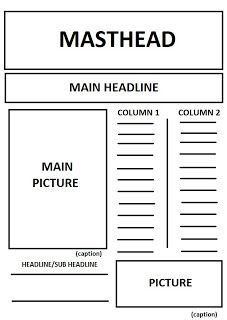 Newspaper Format, Newspaper Layout, Layout Design, Golf, Journaling,  Journal Diary