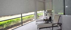 We are the leading awning company in Miami and Fort Myers. Check out our hurricane shutters, roller and panel track blinds, retractable awning and screens for windows or doors. We also offer motorized or roll-down systems for your storm protection. Window Blinds & Shades, Blinds For Windows, Solar Screens, Hurricane Shutters, Retractable Awning, Interior Windows, Pergola, House Design, Curtains