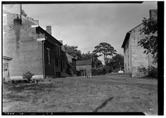 June 6, 1936 DETAIL OF REAR COURT. - Clifton Place, State Highway 6 ·  ColumbiaJuneColombia
