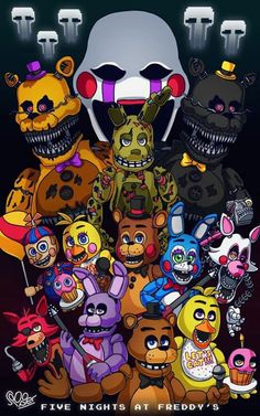 Five nights at freddy's *O*