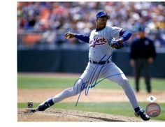 Dwight Gooden NY Mets autographed 8x10 framed photo