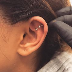 Underground Tattoos Enfield @undergroundtattoos_enfield - Three outer conch piercin...Yooying