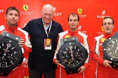 Hublot Genève se hizo presente en las 24 horas de LeMans junto a Ferrari ( 24 Heures du Mans - ACO Official), la prestigiosa carrera de automóviles que se lleva a cabo desde 1923.