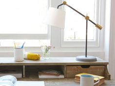Concrete,+brass+and+pewter.+A+combination+of+all+our+favourite+desk+lamp+ingredients+in+one.