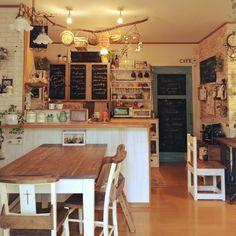 同じような写真ばっかりでスミマセン。/目指せカフェ風キッチン!/しゃれとんしゃあ会…などのインテリア実例 - 2014-05-19 18:38:53 | RoomClip(ルームクリップ)